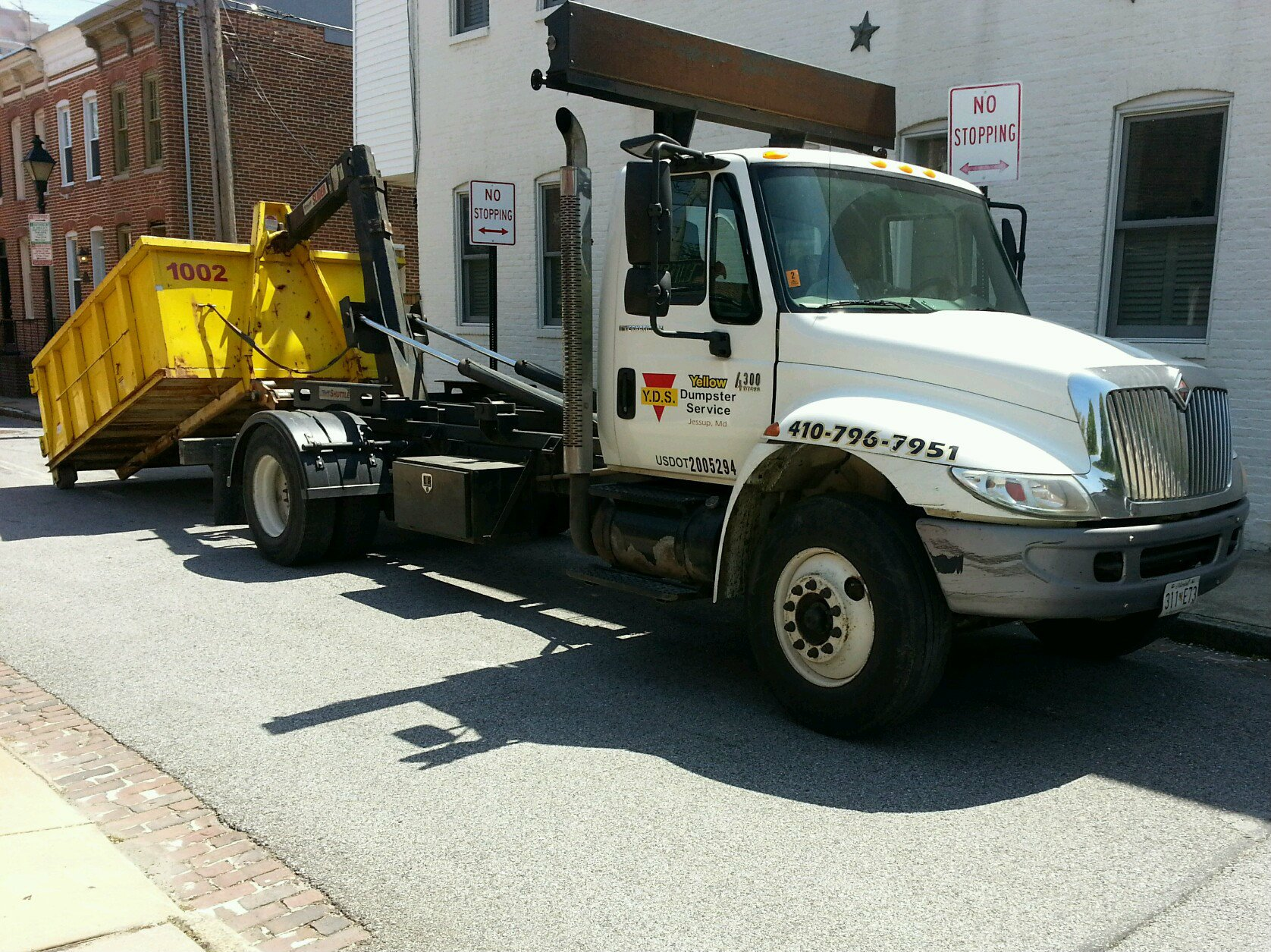 yellow dumpster service jessup md