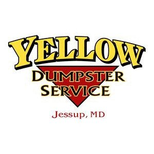 Yellow Dumpster Service Icon