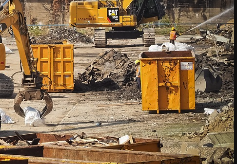 concrete dumpsters for rent